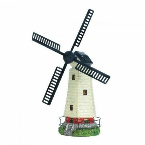 Accent Plus Solar Powered Windmill Lighthouse
