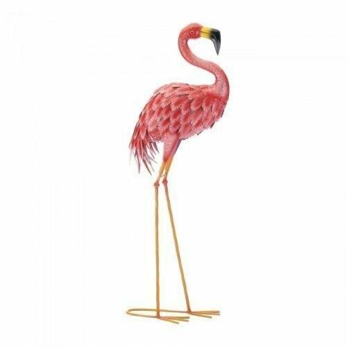 Accent Plus Bright Standing Flamingo