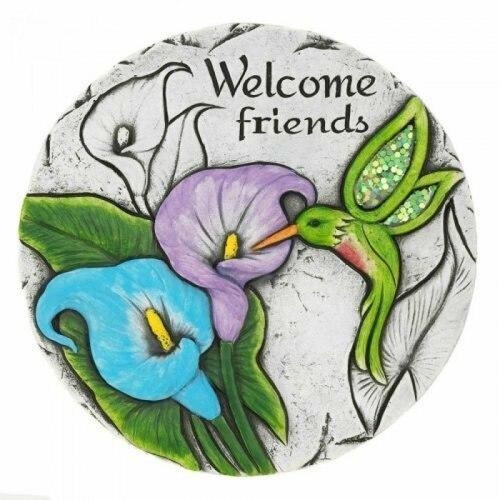 Accent Plus Welcome Friends Stepping Stone