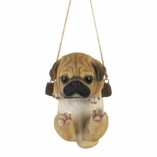 Accent Plus Swinging Pug Dcor