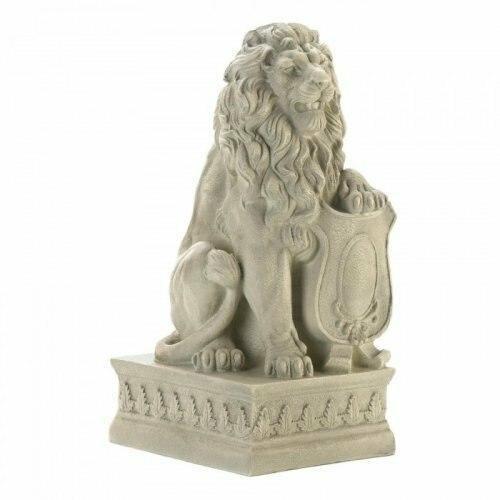 Accent Plus Ivory Lion Statue