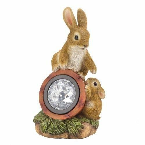Summerfield Terrace Rabbit W/solar Light