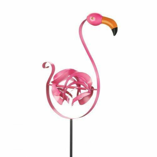 Summerfield Terrace Flamingo Garden Stake