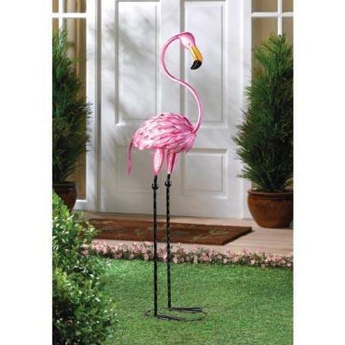 Accent Plus Tropical Tango Flamingo Statue