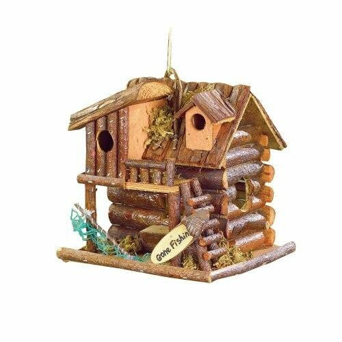 Songbird Valley Gone Fishin Birdhouse