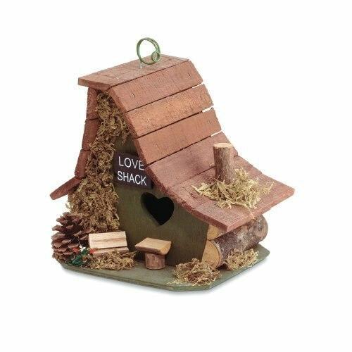 Songbird Valley Love Shack Birdhouse - 29634S