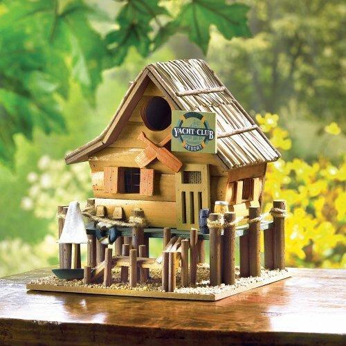 Songbird Valley Yacht Club Birdhouse