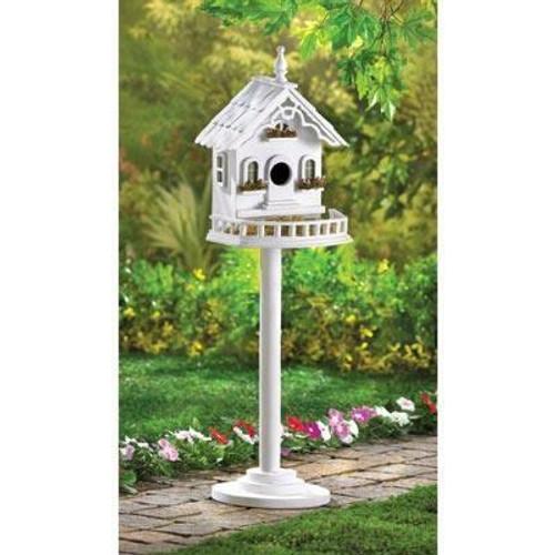 Songbird Valley Freestanding Victorian Birdhouse