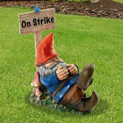 Accent Plus On Strike Sleeping Gnome