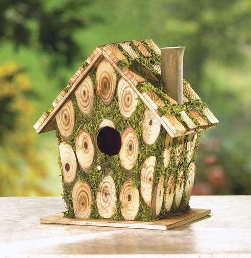 Songbird Valley Moss-edged Bird House