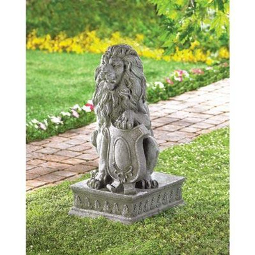 Accent Plus Lion Guardian Statue