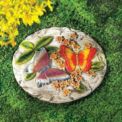 Accent Plus Butterfly Stepping Stone