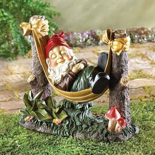 Accent Plus Slumbering Gnome Statue