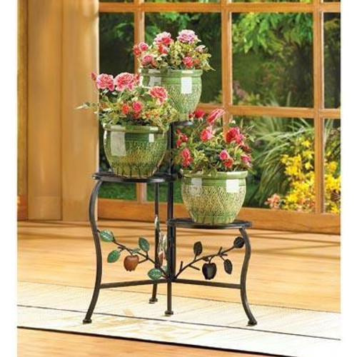 Accent Plus Country Apple Plant Stand