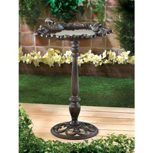 Songbird Valley Forest Frolic Bird Bath