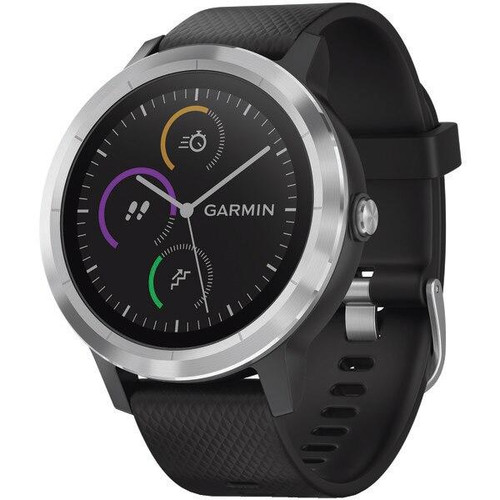 GARMINR Garmin Vivoactive 3 black With Stainless Hardware