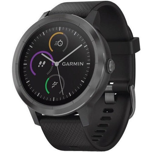 GARMINR Garmin Vivoactive 3 black With Slate Hardware