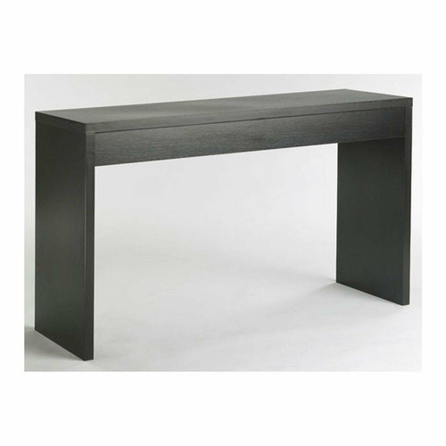 FastFurnishings Contemporary Living Room Console Wall / Sofa Table in Espresso