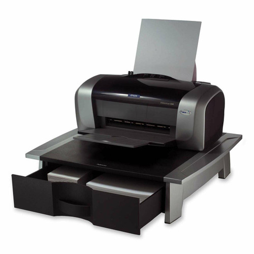 FastFurnishings Low Profile Contemporary Printer Stand with Paper Drawer