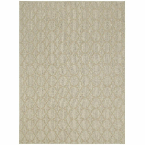 FastFurnishings 7.5-ft x 9.5-ft Tan Area Rug - Made in USA