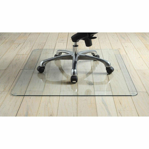 FastFurnishings Heavy Duty 36 Inch Tempered Glass Chair Mat