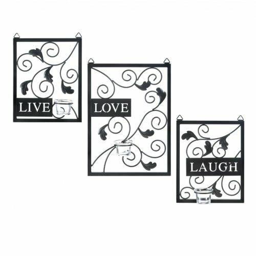Accent Plus Live Love Laugh Wall Decor