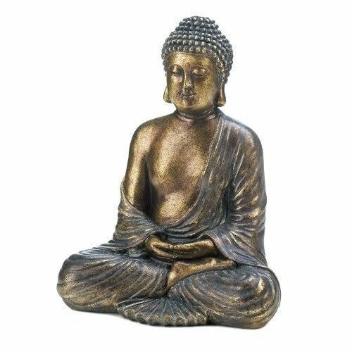 Accent Plus Sitting Buddha Statue