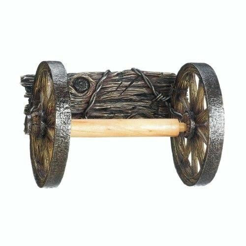 Accent Plus Wagon Wheel Toilet Paper Holder