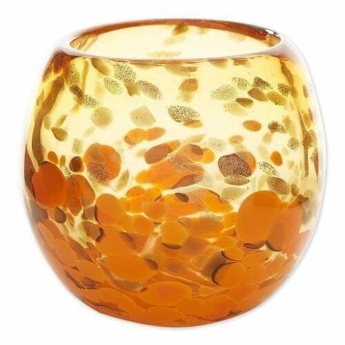 Accent Plus Orange Bowl Vase