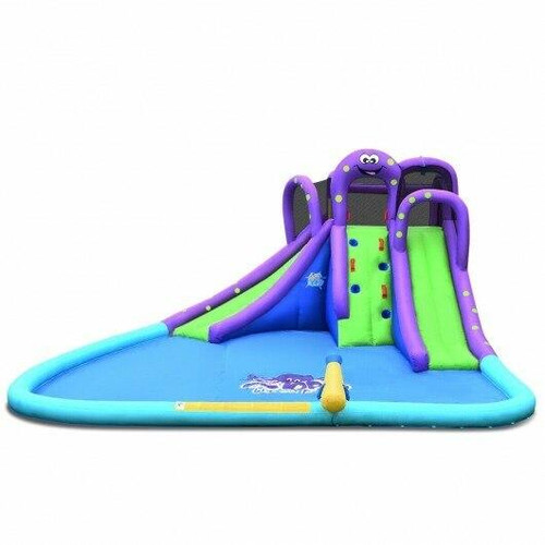 Inflatable Water Park Mighty Bounce House with Pool
