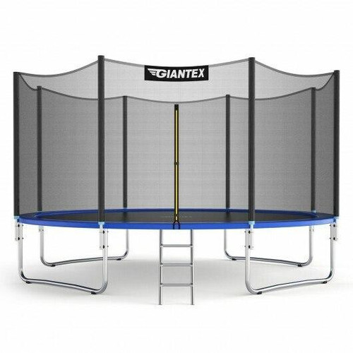 12/14 ft Trampoline Bounce Jump Combo with Spring Pad-12