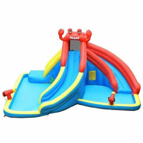 Inflatable Water Slide Crab Dual Slide Bounce House