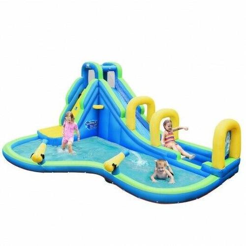 Inflatable Water Slide Kids Bounce House Castle - CWOP70401