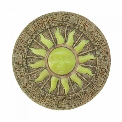 Accent Plus Bursting Sun Glowing Stepping Stone