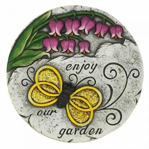 Accent Plus Enjoy Our Garden Stepping Stone