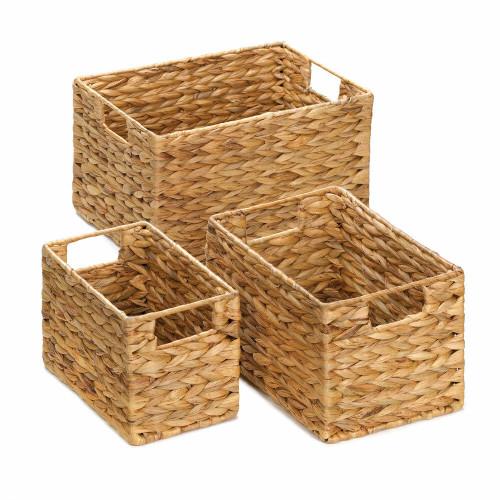 Accent Plus Straw Nesting Basket Set