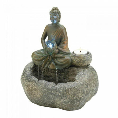 Accent Plus Buddha Tabletop Fountain