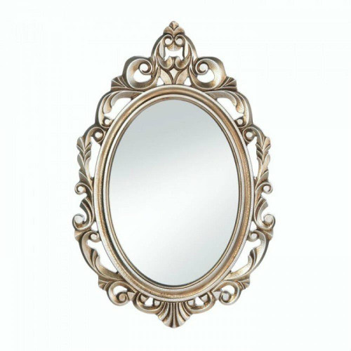 Accent Plus Gold Royal Crown Wall Mirror