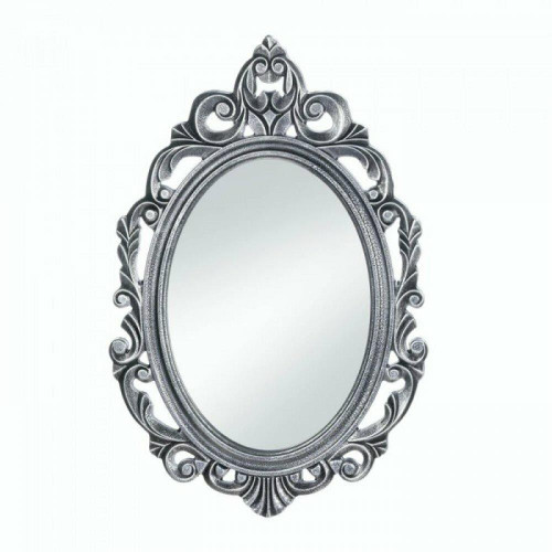 Accent Plus Silver Royal Crown Wall Mirror