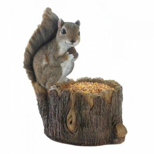 Songbird Valley Squirrel Tree Trunk Bird Feeder