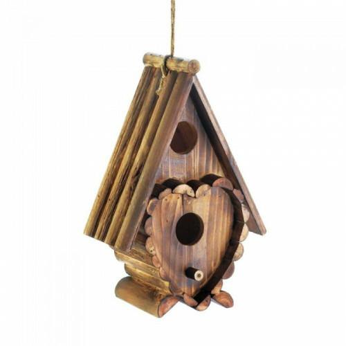 Songbird Valley Heart Shape Birdhouse