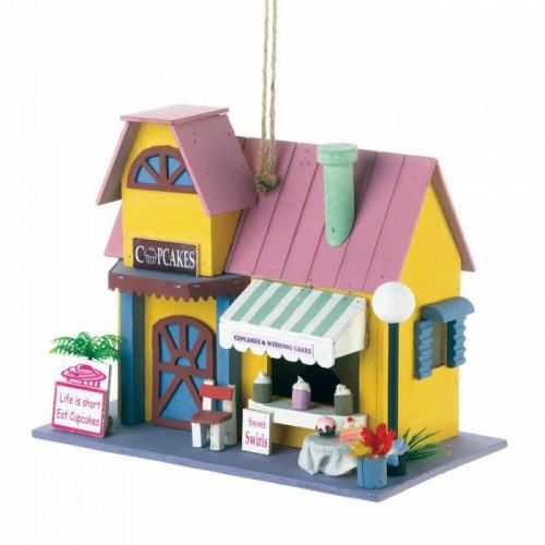 Songbird Valley Cupcake Bakery Birdhouse