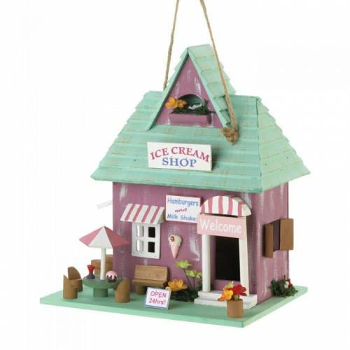 Songbird Valley Ice Cream Shop Birdhouse