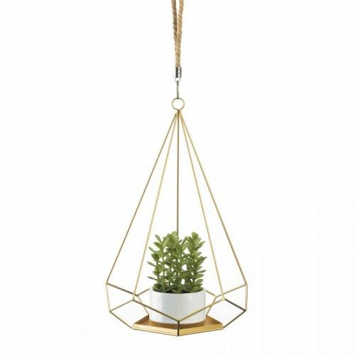 Accent Plus Prism Hanging Plant Holder