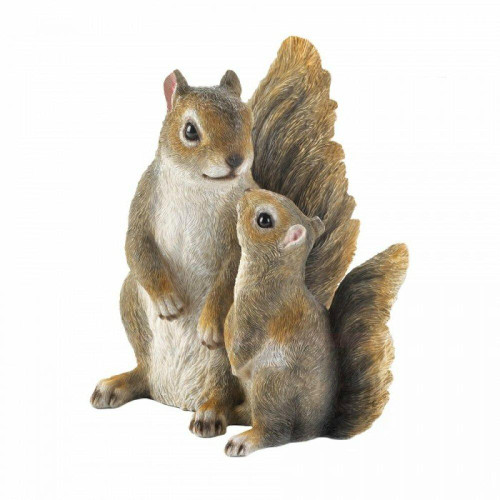 Accent Plus Mommy And Me Squirrel Figurine