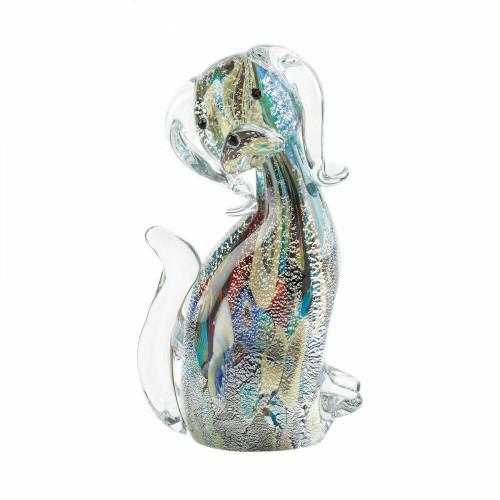 Accent Plus Designer Dog Art Glass
