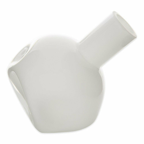 Accent Plus White Abstract Vase