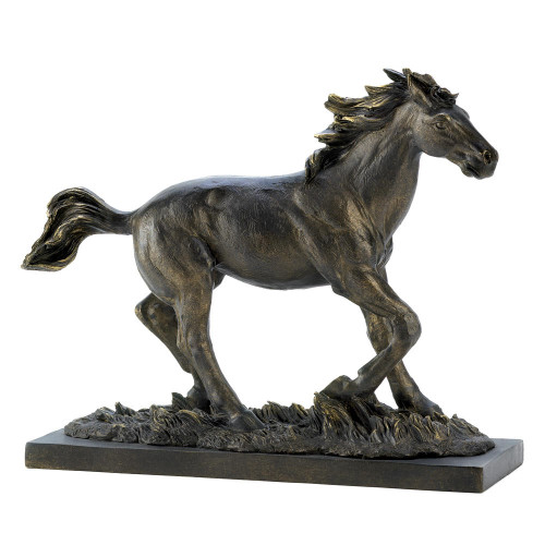 Accent Plus Wild Stallion Statue