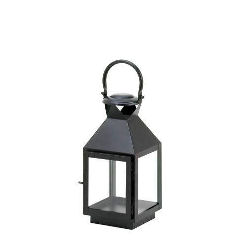 Accent Plus Medium Classic Black Candle Lantern