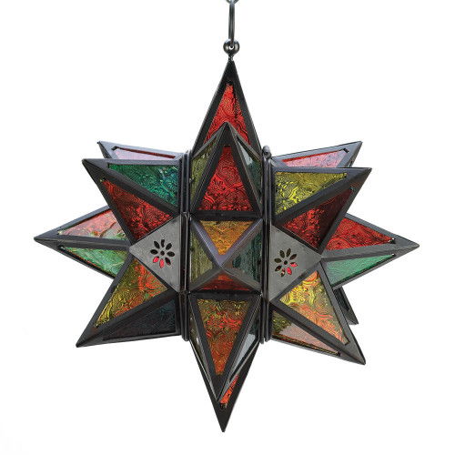 Accent Plus Moroccan-style Star Lantern
